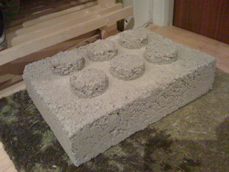Concrete LEGO