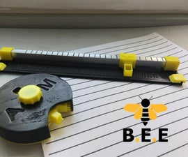 B.E.E - DIY Manual Braille Embosser