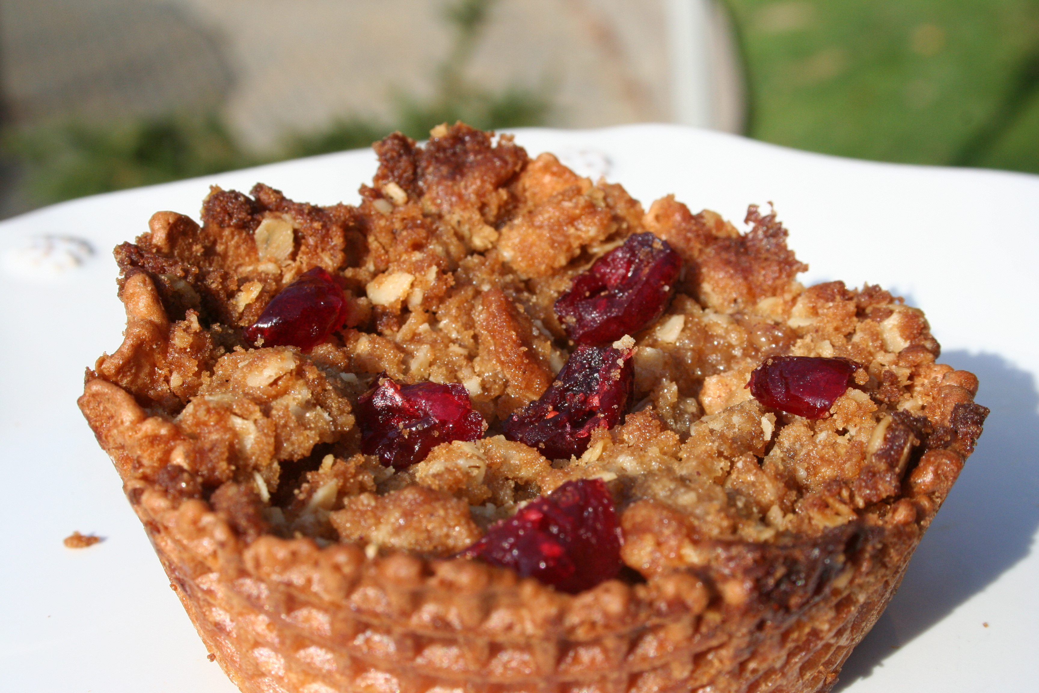 Apple Cranberry Bowl