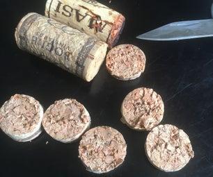 Wine Cork Cutting Hack