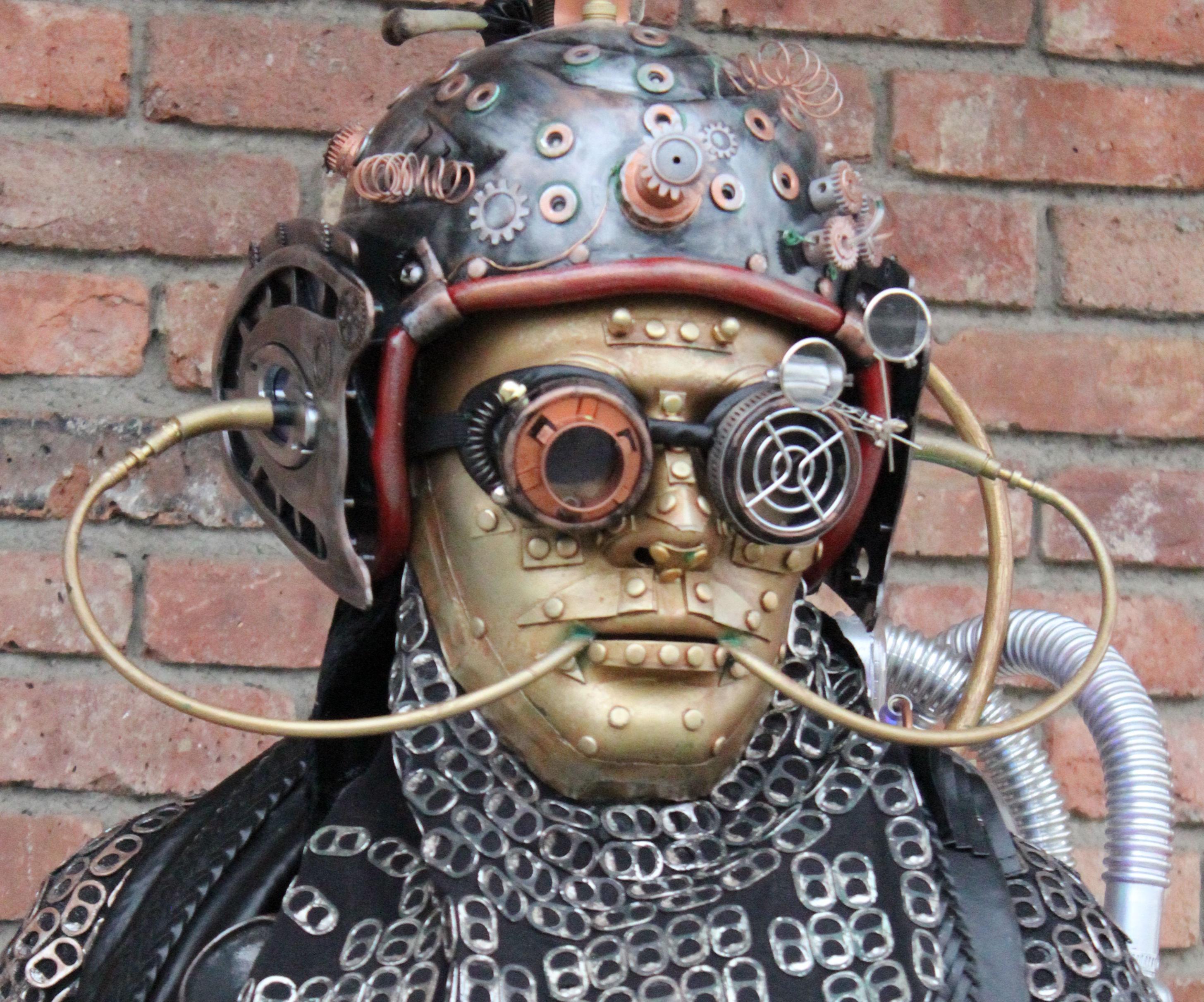 Extraterrestrial Cyborg Halloween Costume