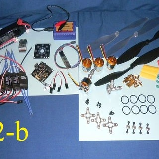 Build Your Own Eco-Quad Copter From Reused and Recycled Materials