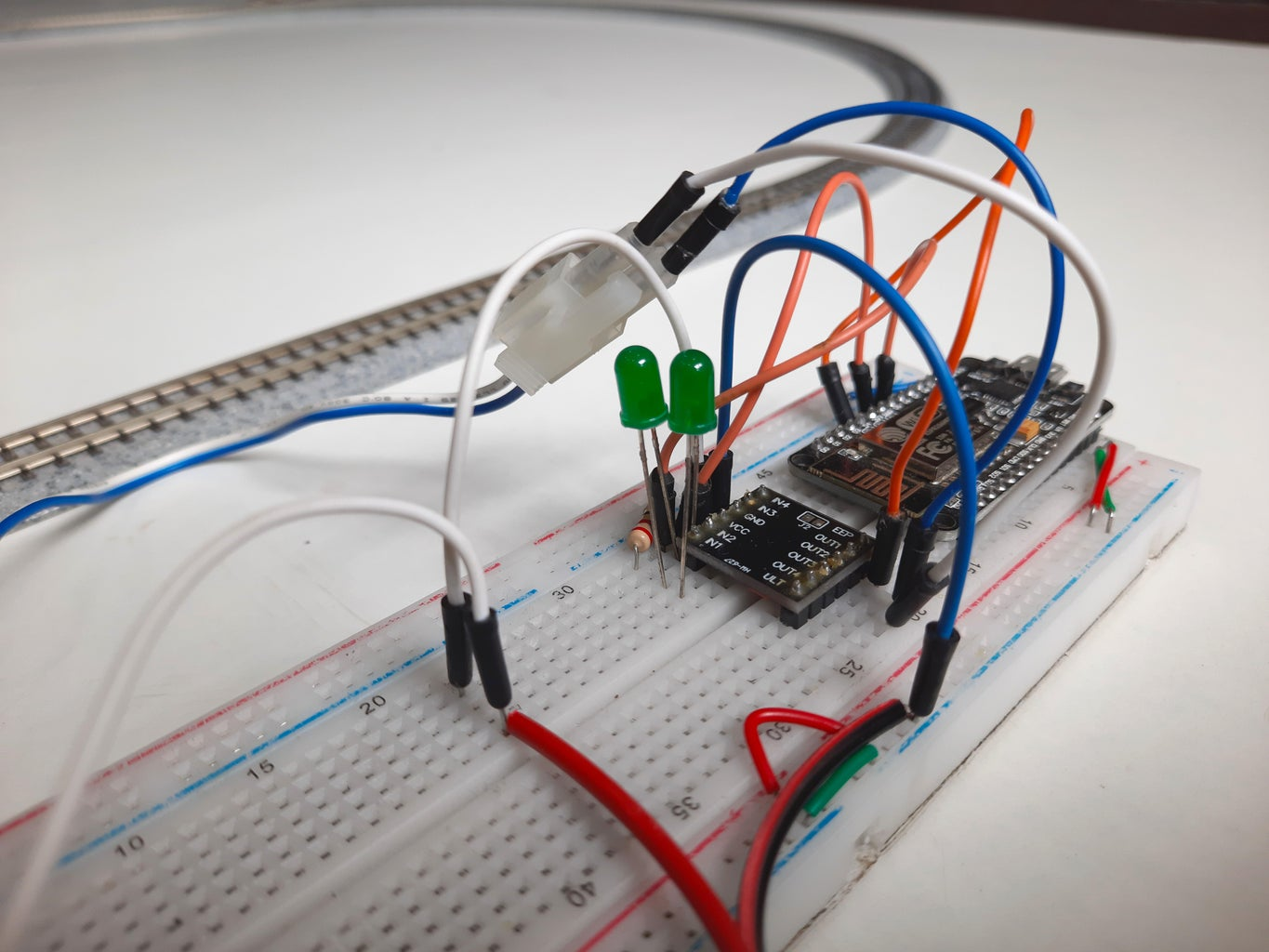 Connect the Motor Driver to the Microcontroller