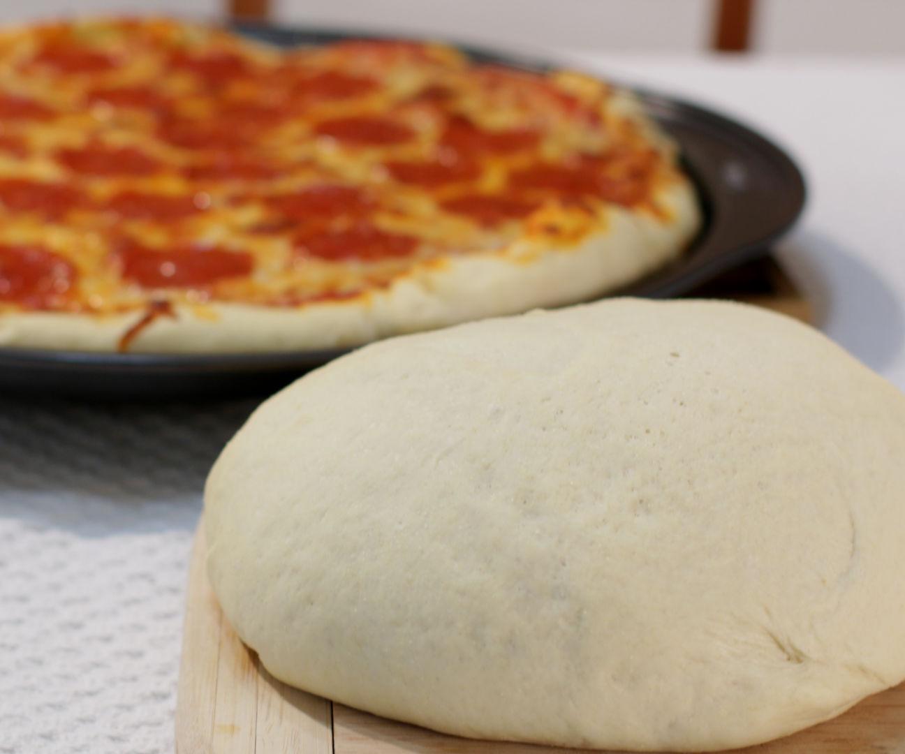 Amazing Homemade Pizza Dough
