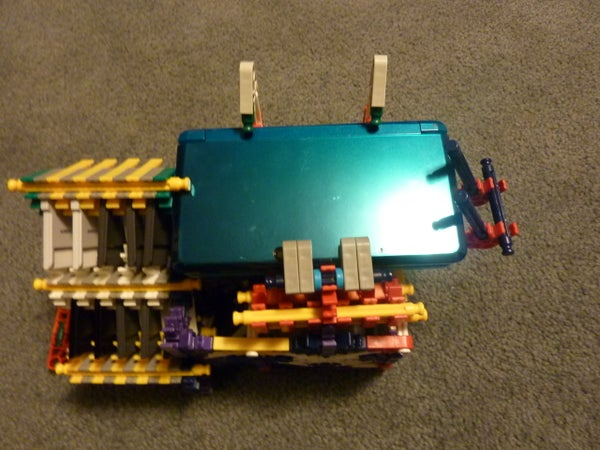 Knex Dock, Game Storage Rack, and Accesory Storage Case for 3DS, DS, and DSi