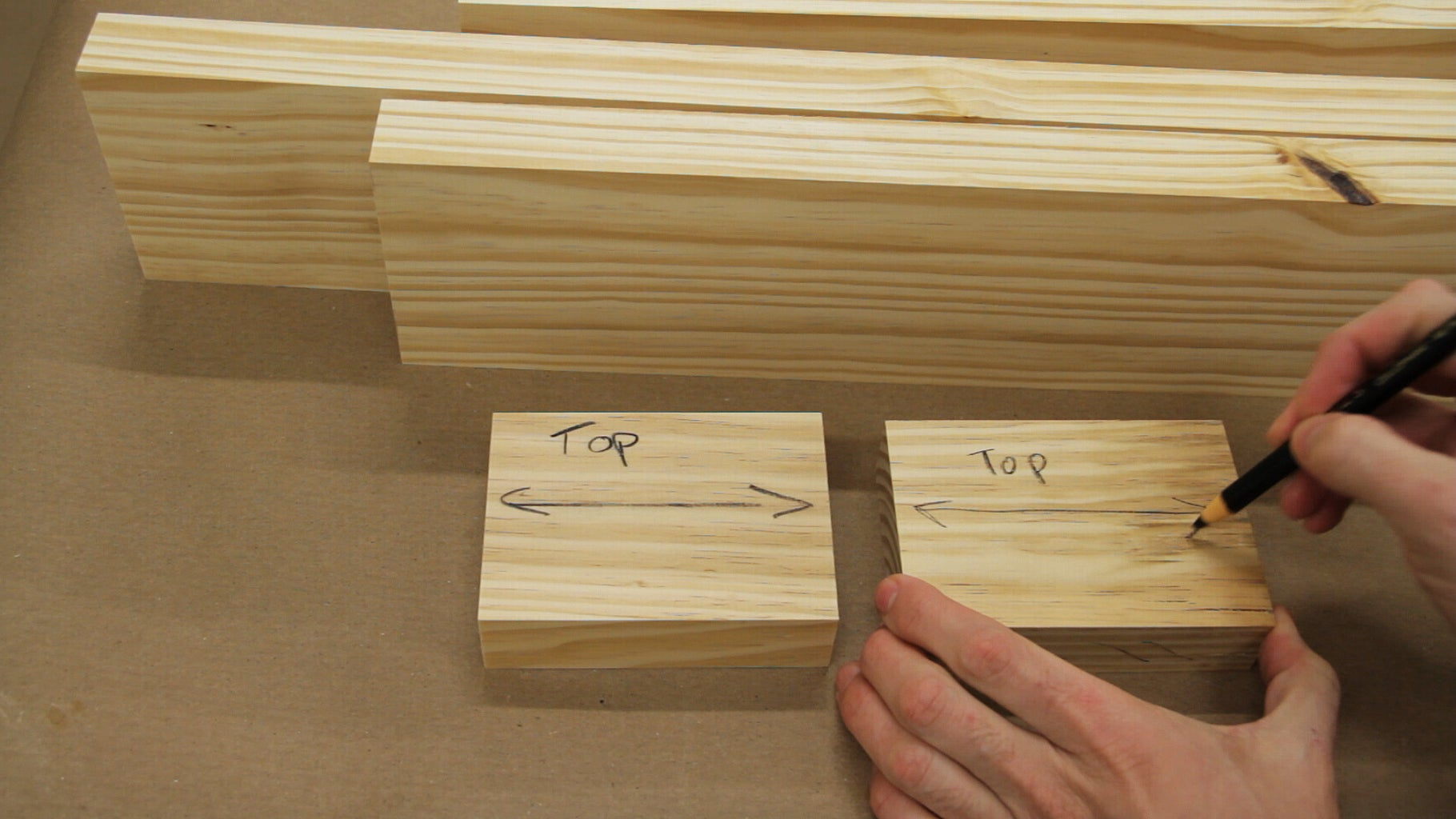 Preparing Boards for the Top