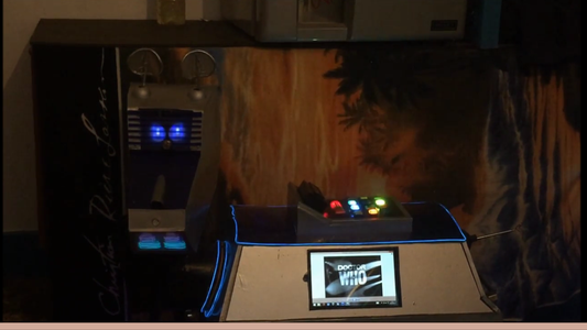 Interactive Doctor Who Computer Quiz.