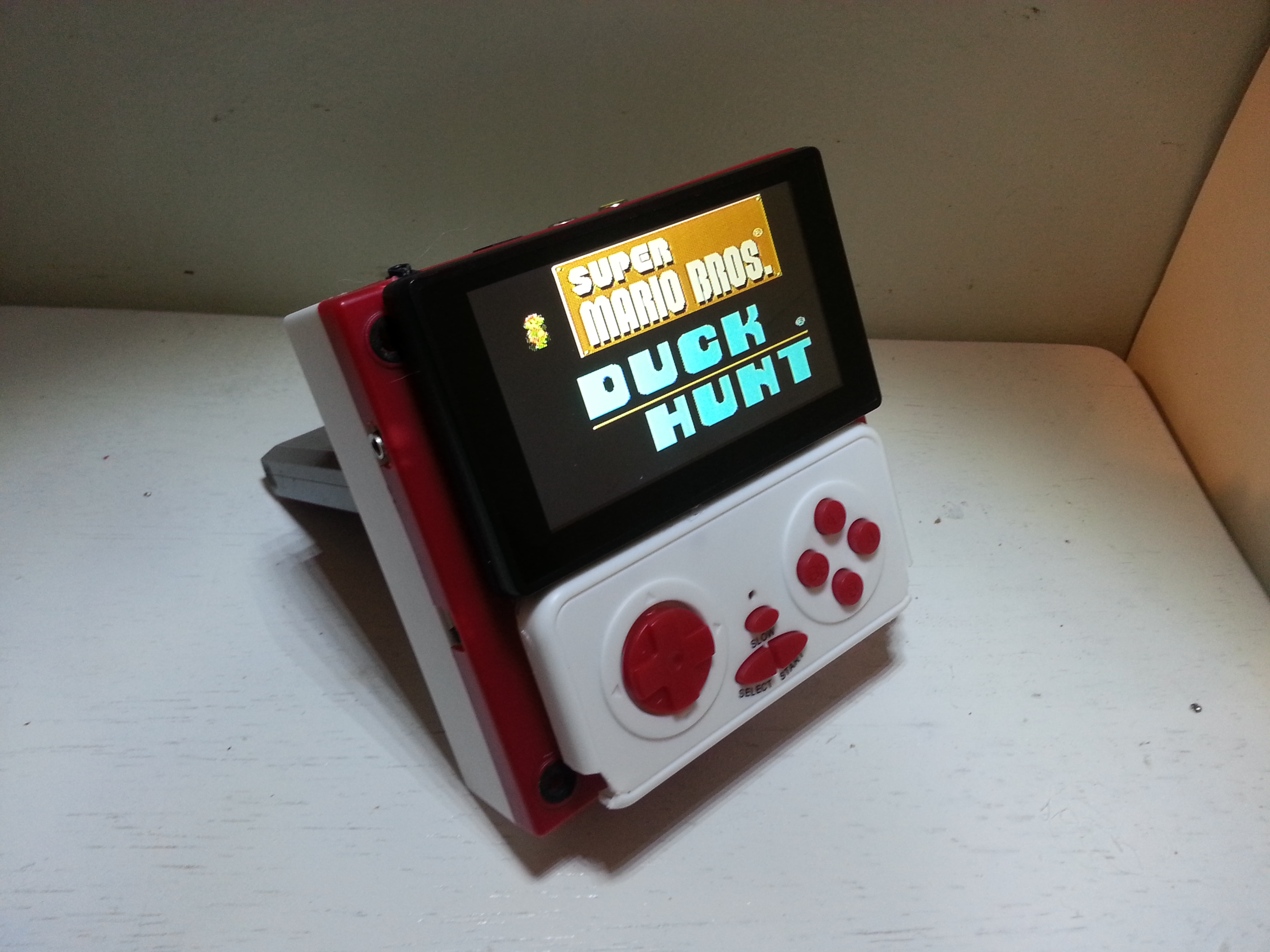 Make a handheld NES. (portable nintendo entertainment system)