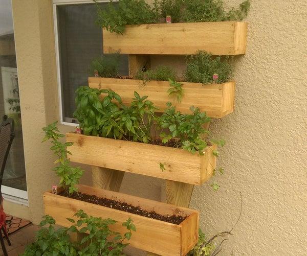Leaning Herb Garden
