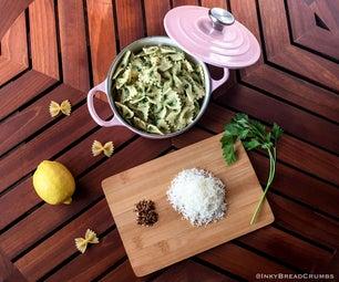 克拉姆的aglio,olio e peperoncino ......有点
