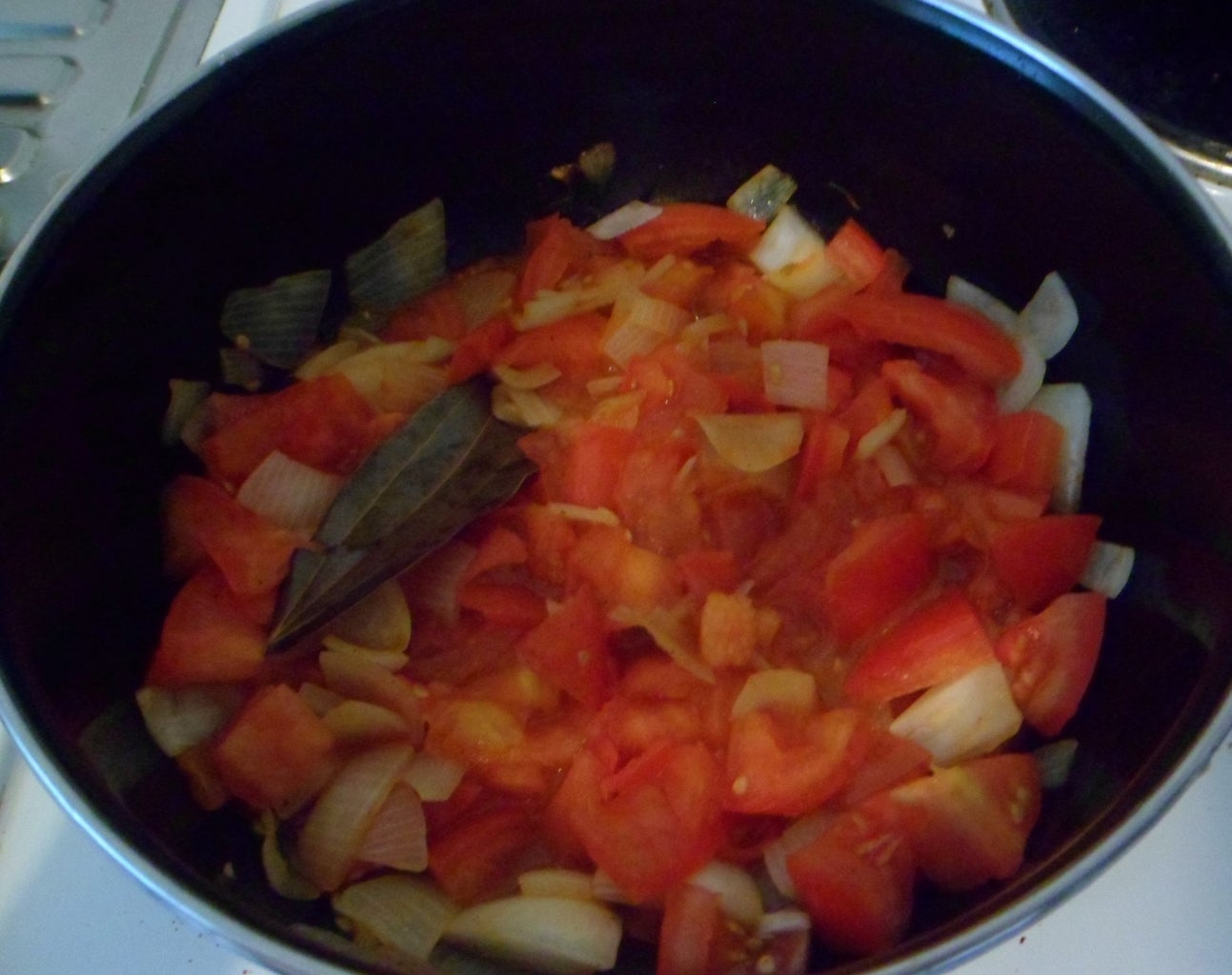 Cook Till Tomatoes Become Soft