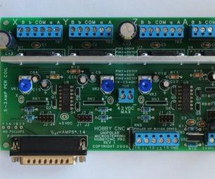 HobbyCNC 4-Axis Stepper Motor Driver Board