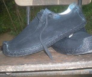 DIY Shoe Waxing Hack