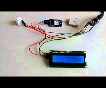 Arduino Nano: Show GPS location on I2C 2 X 16 LCD Display With Visuino