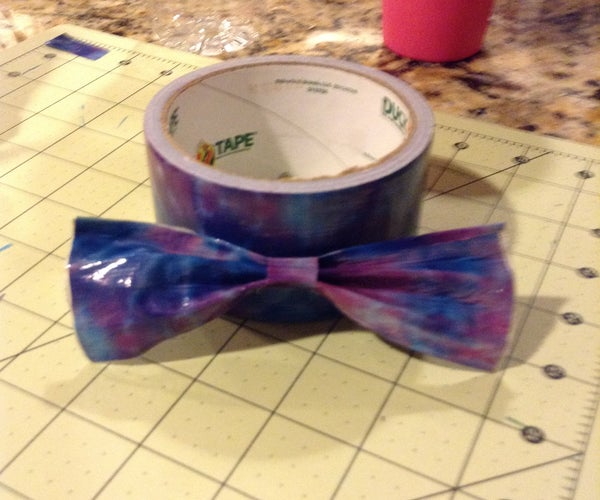 ŸŽ€ DIY Duct Tape Bow!