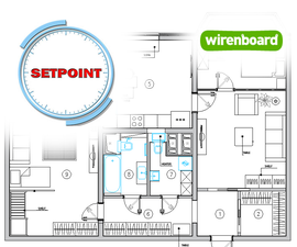 Wirenboard SmartHome (two-bedroom Apartment)