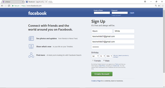 How to Create a Facebook Account on a Computer