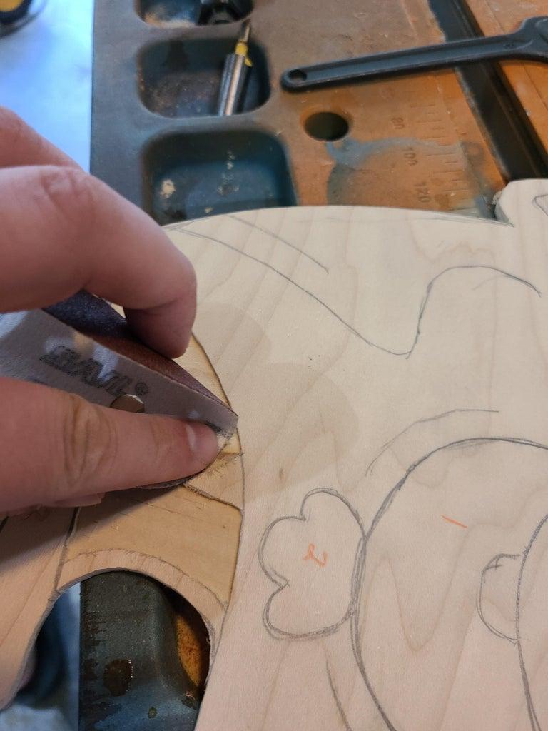 Cutting Away Pieces