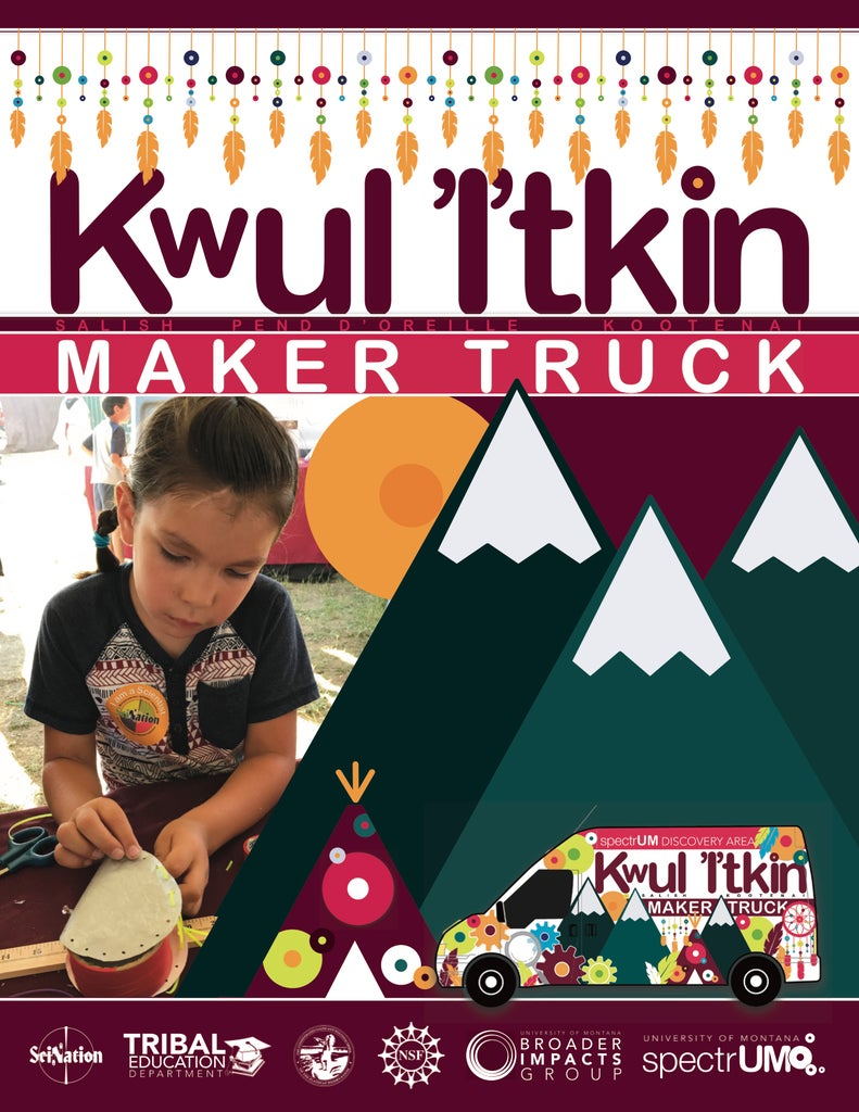 Drum Making With the Kwul 'I'tkin Maker Truck