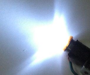 Retrofitting LEDs in a Dynamo Bulb