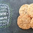 Salted Oatmeal White Chocolate Cookies
