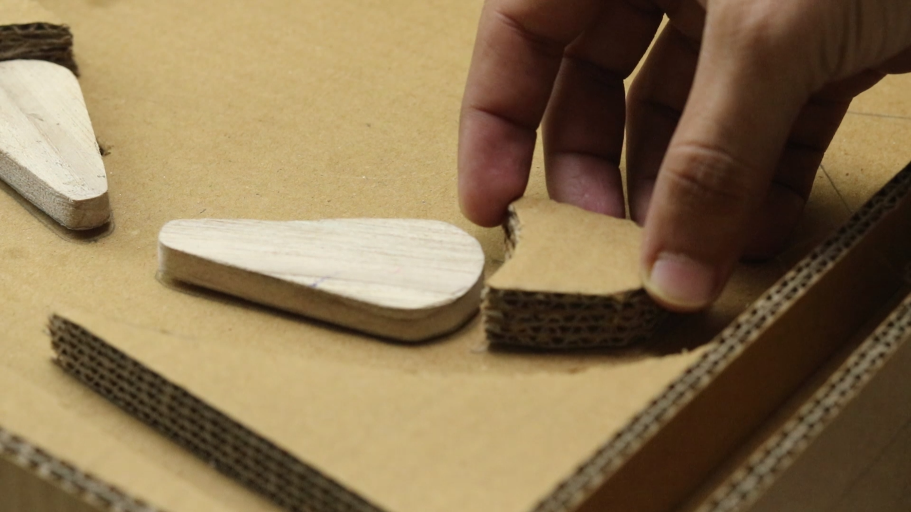 Stick Cardboard