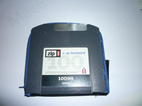 Iomega Zip Floppy Disk Wallet/Purse