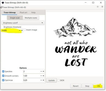 Trace Bitmap