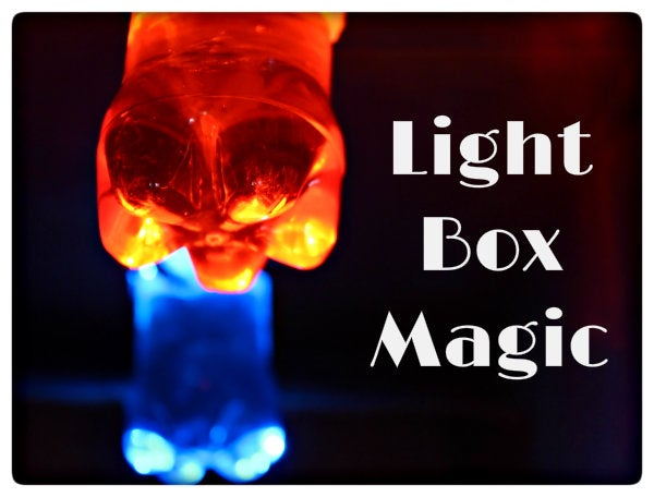 Science Experiment for Kids: Light Box Magic