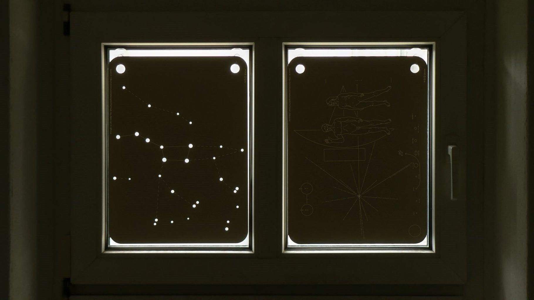 Laser Cut Cardboard Curtains