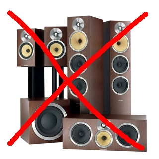 Surround sound for free (it could save your marriage!)
