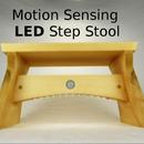Motion Sensing LED Step Stool