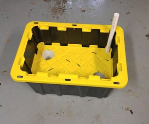 Oversize EarthBox-style Bottom Watering Container