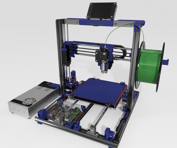 Bergen Makerspace Transportable 3D Printer