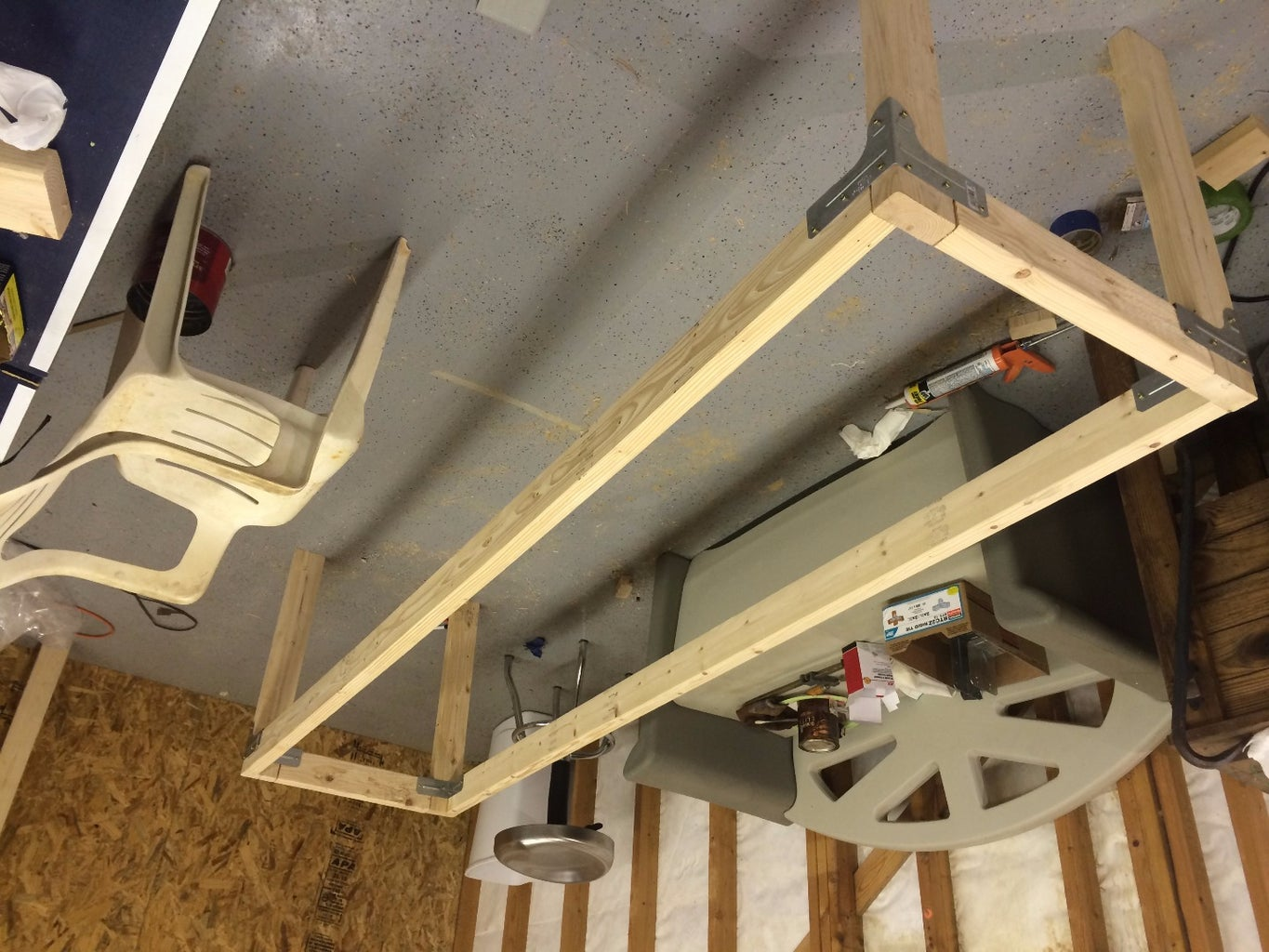 Build the Workbench Frame
