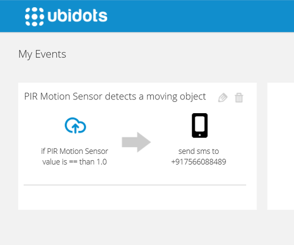 Burglar Alarm With Sending SMS and Email From Your IoT Device