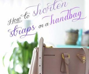 How to Shorten Straps on a Handbag