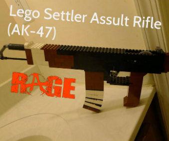 Lego Settler Assault Rifle (or AK-47)