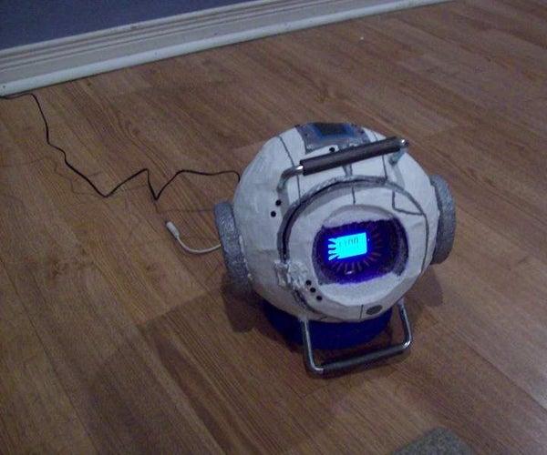 Wheatley Clock- Portal 2