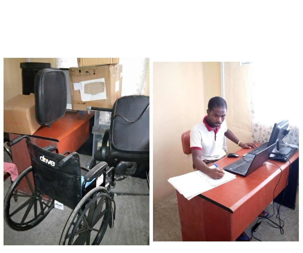 Trash to Treasure; State of the Art Office From Reused Stuffs