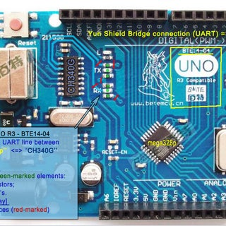 Linux, WiFi, Ethernet , USB Shield for Arduino