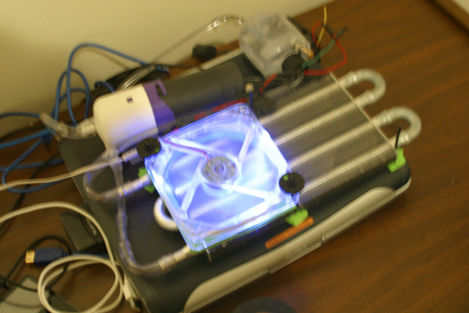 Watercooling a Laptop on the Cheap