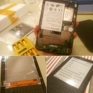 Fix Your Broken Kindle Keyboard Screen