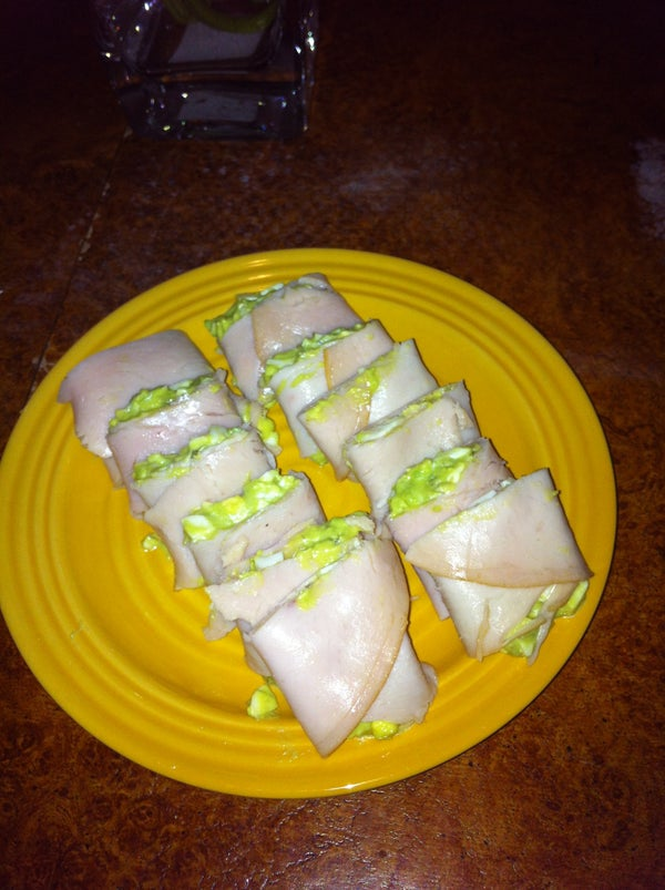"""Paleo Egg Salad """"Sushi"""""""
