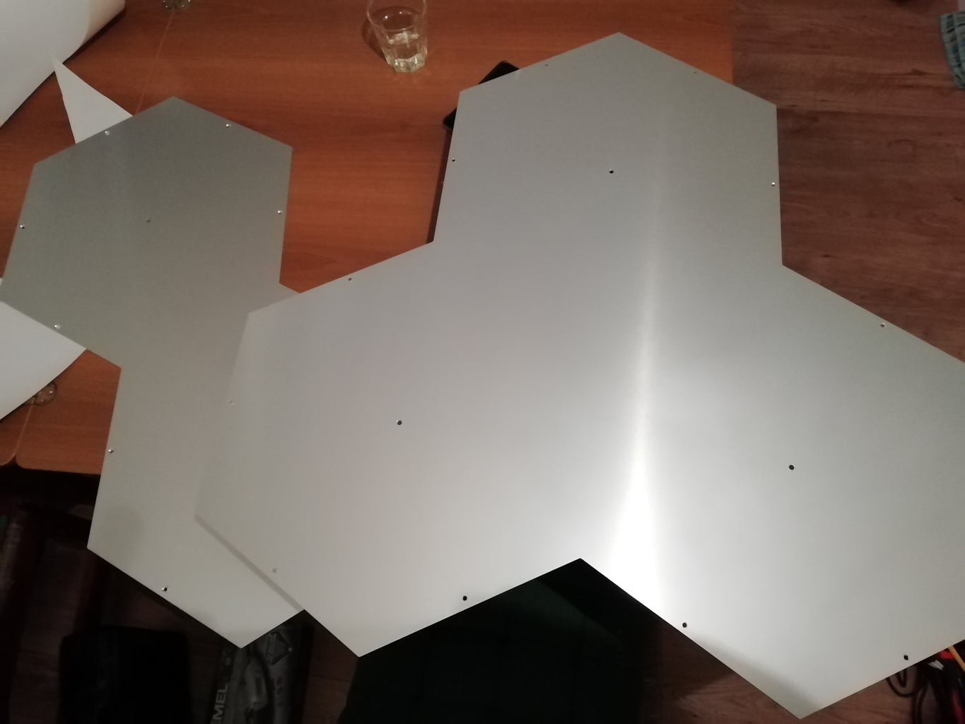 Aluminum Laser Cutting and Drilling Holes