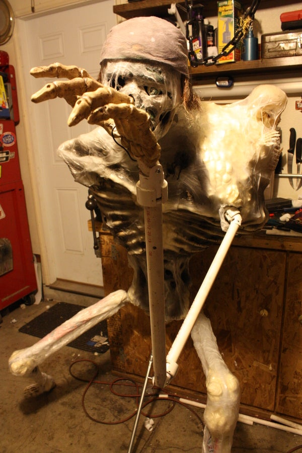 Movable PVC Joints for Halloween Props