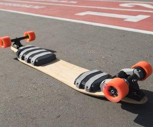 Fusion Board - 3D Printed Electric Skateboard