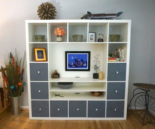 IKEA Hack: How to Upgrade Your IKEA Shelving Unit for $40