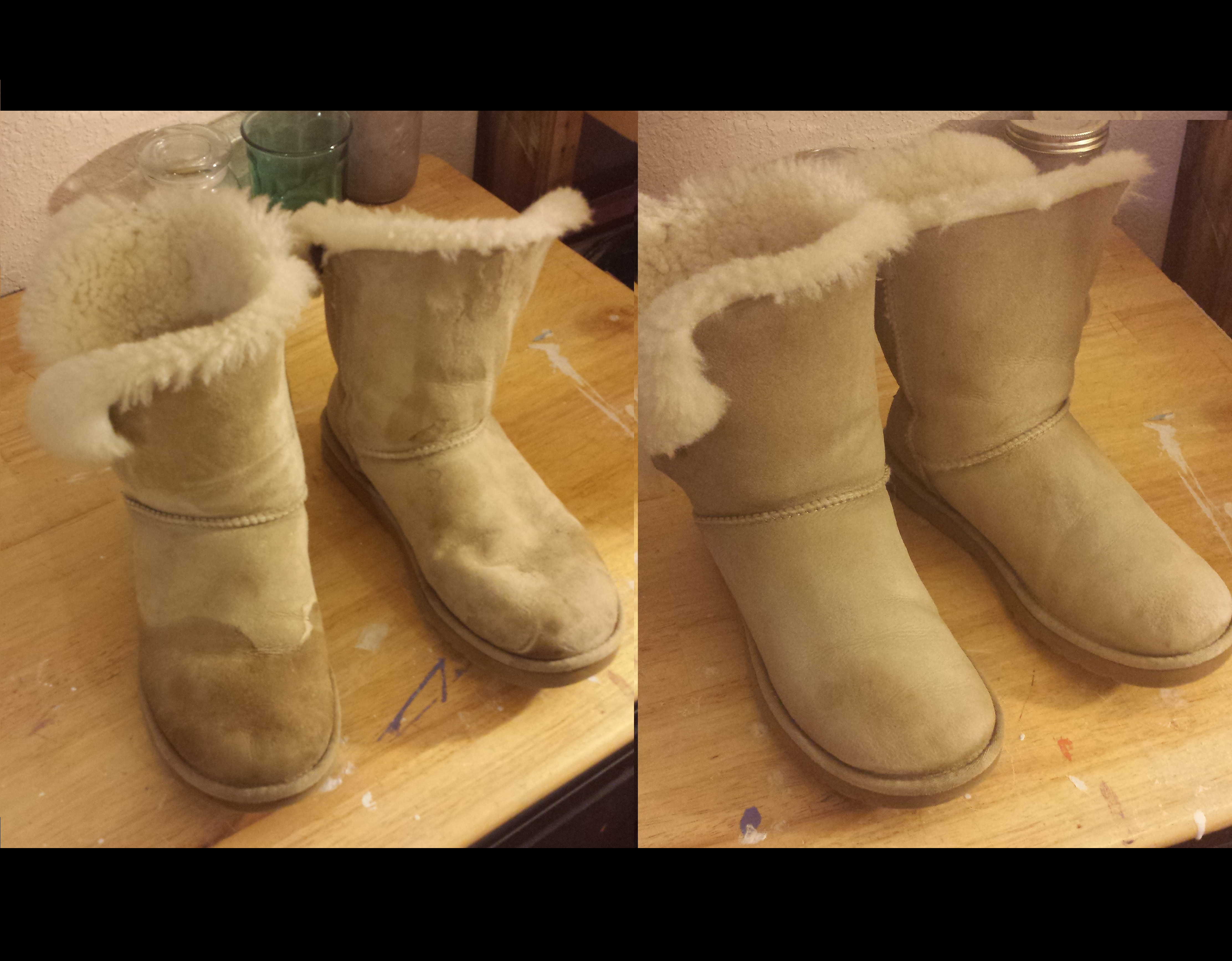 How to Clean Ugg Boots : 4 Steps (with