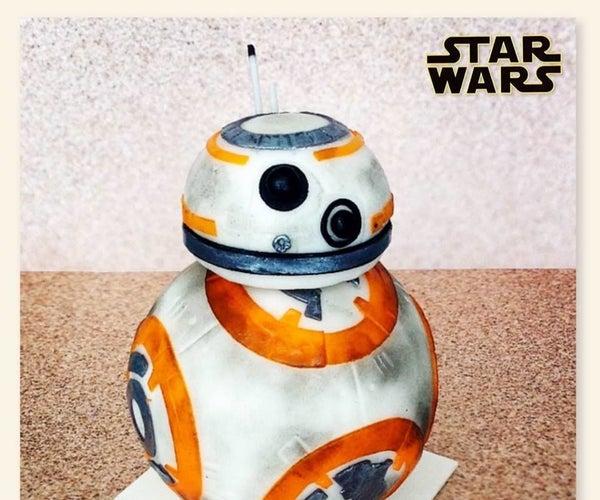 BB-8 Cake